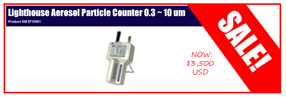 Lighthouse Aerosol Particle Counter